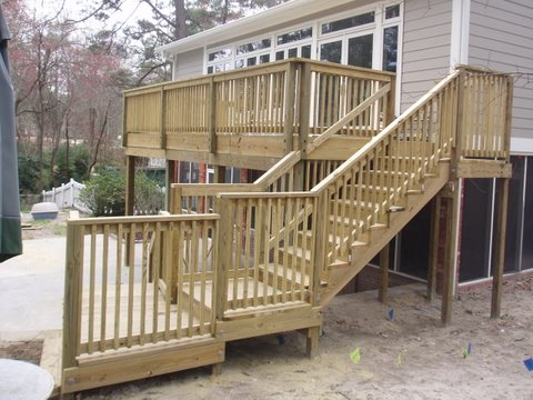 Deck restoration Columbia, SC